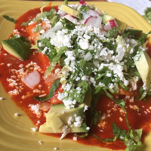 Chicken Enchiladas @ Ole Mole