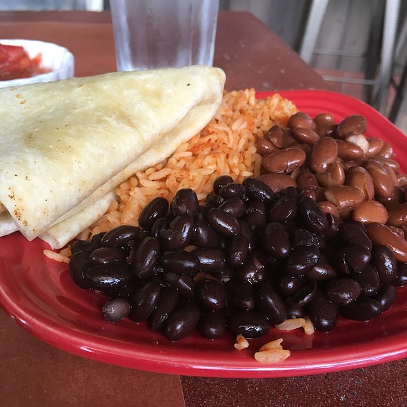 Rice and Beans @ Ole Mole