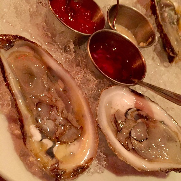 Blue Point Oysters - Club A Steakhouse, New York, NY