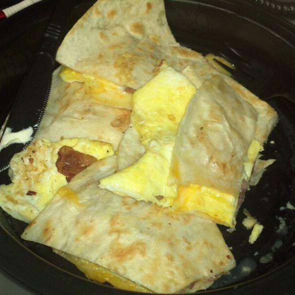 Breakfast Quesadilla @ Suburban Eats
