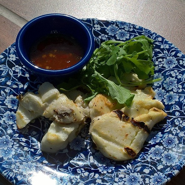 Grilled Halloumi @ The Elms