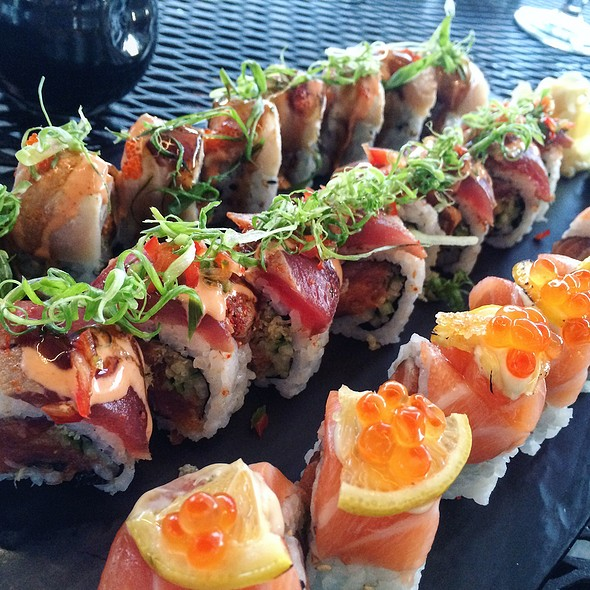 Sushi Rolls - Latitude 43, Gloucester, MA