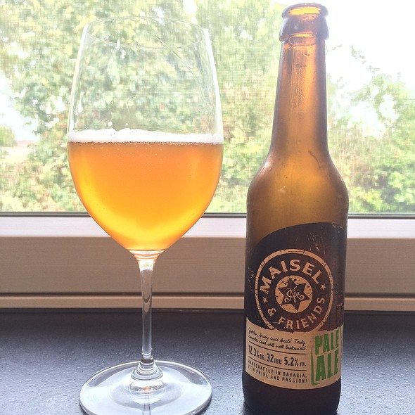 Maisel & Friends Pale Ale @ My Best Home Cooking