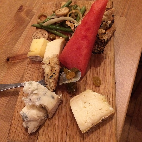 Cheese Plate @ Spotted Salamander Catering