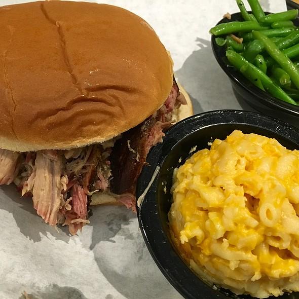 Pulled Pork BBQ Sandwich @ Smoke BBQ Restaurant & Bar