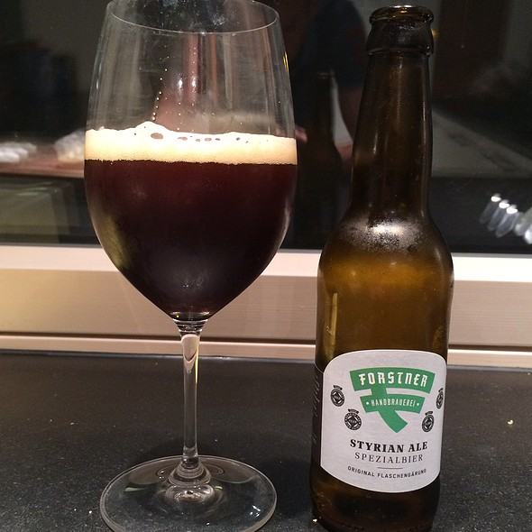 Forstner Styrian Ale @ My Best Home Cooking