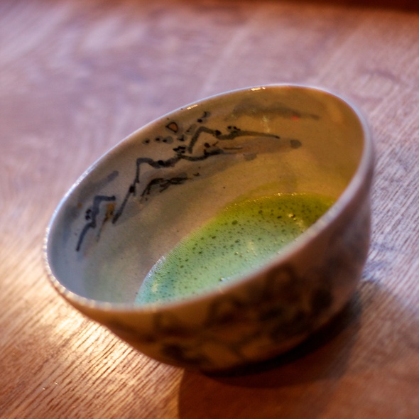 Matcha Green Tea - Kajitsu, New York, NY