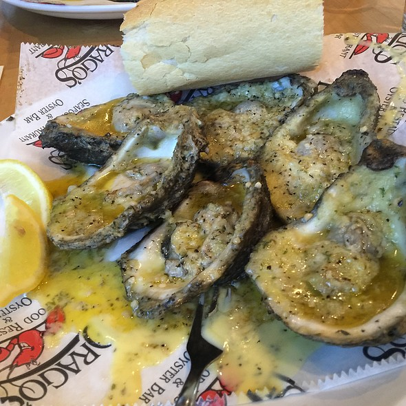 Char Grilled Oysters @ Drago's Seafood Restaurant