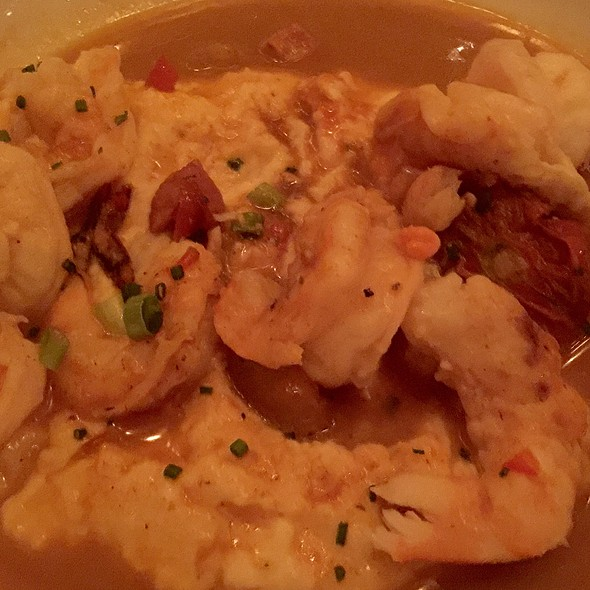 Shrimp and Grits @ Atchafalaya Restaurant