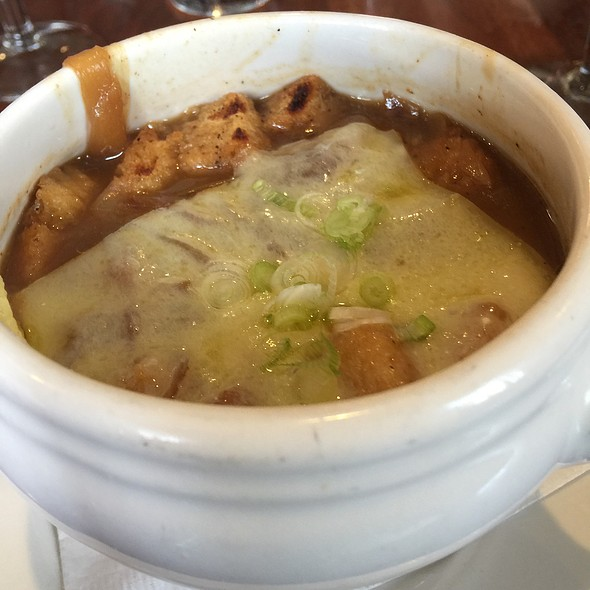 Creole French Onion Soup @ Tableau