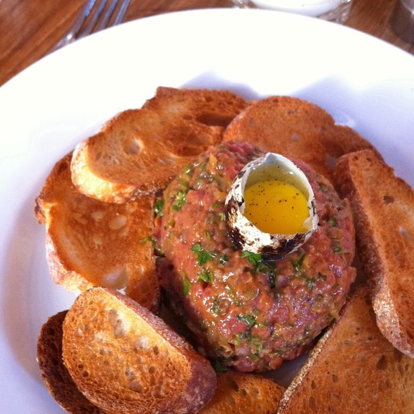 Steak Tartare With Quail Egg - Trestle on Tenth, New York, NY