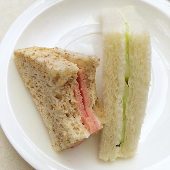 Tea Sandwiches @ United Global First Lounge