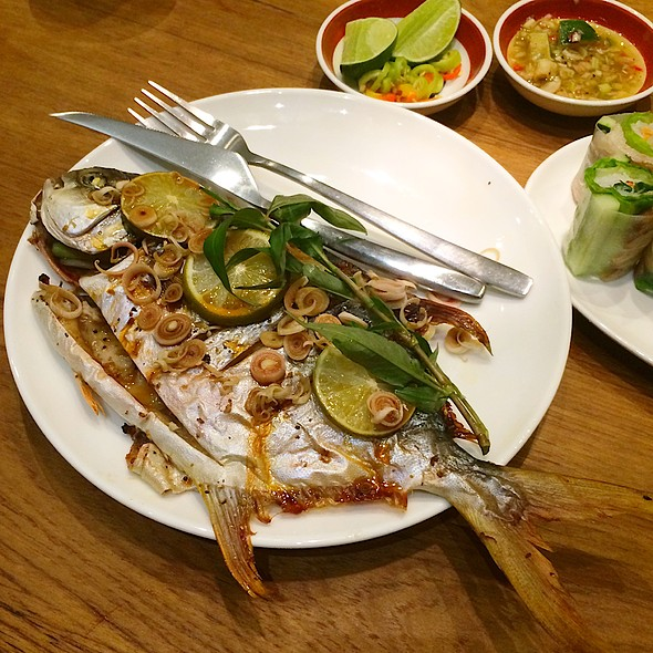 Grilled Fish @ Nha Trang 芽莊越式料理