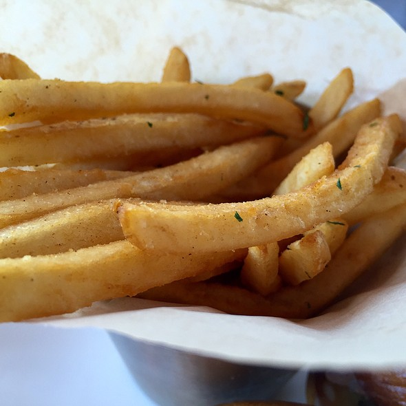 Fries - TAPS Fish House & Brewery, Brea, CA