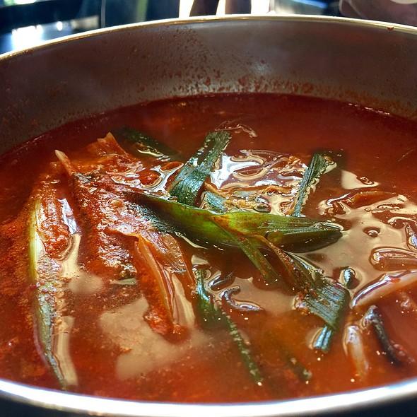 Yuk Gae Jang (Spicy Beef Soup) @ Tang 190