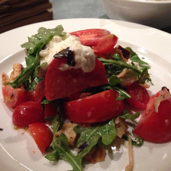 Tomato, Burrata, Croutons & Arugula - The Hungry Cat - Hollywood, Hollywood, CA