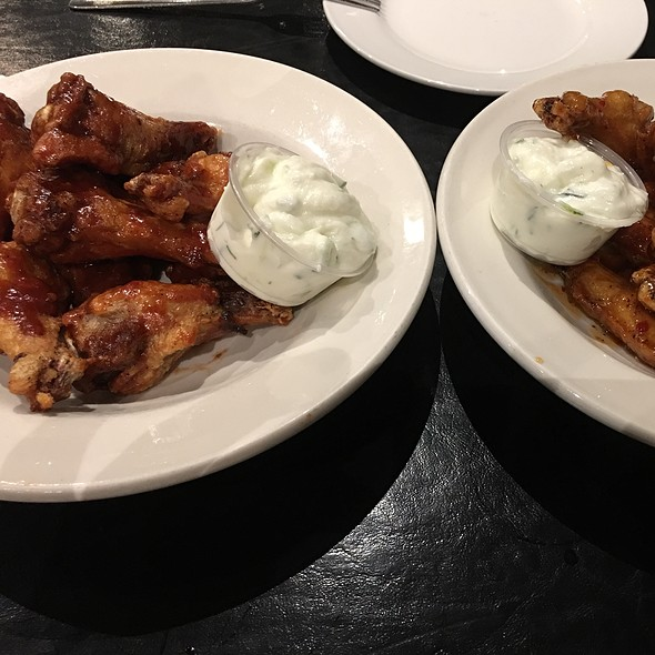 BBQ Chicken Wings @ Best Neighbours Restaurant & Pizza House The