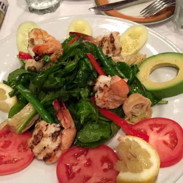Grilled Shrimp Salad @ Topo Gigio Ristorante