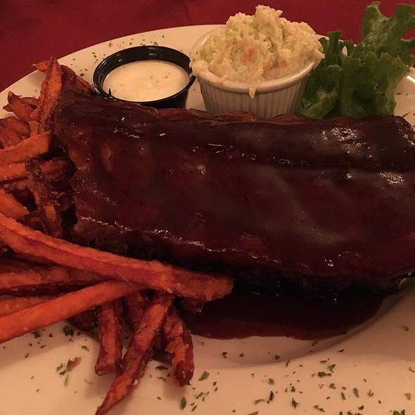Chipotle BBQ Babyback Ribs  @ Gardenville Hotel