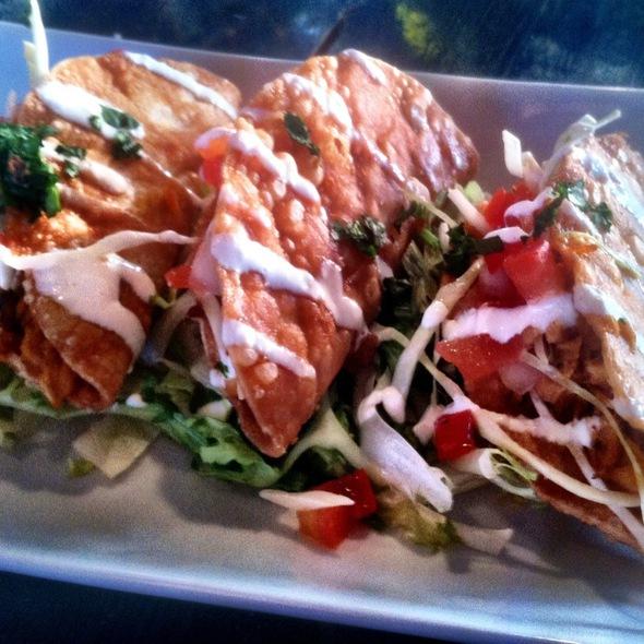 fish tacos @ Navy Beach Restaurant