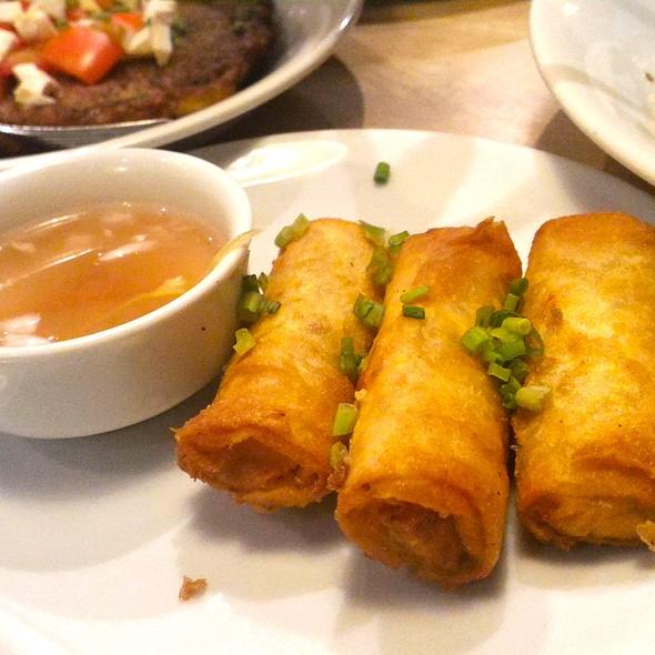 deep-fried chorizo and kesong puti lumpia