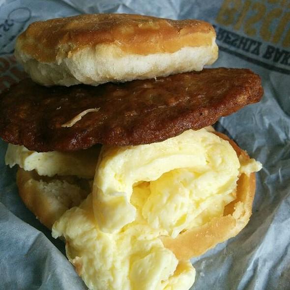 Sausage & Egg Biscuit @ Burger King