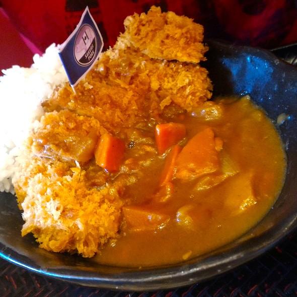 tonkatsu curry rice @ Katsu Sora