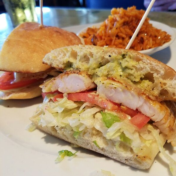 Blackened Trigger fish Sandwich - Fleet Landing Restaurant & Bar, Charleston, SC