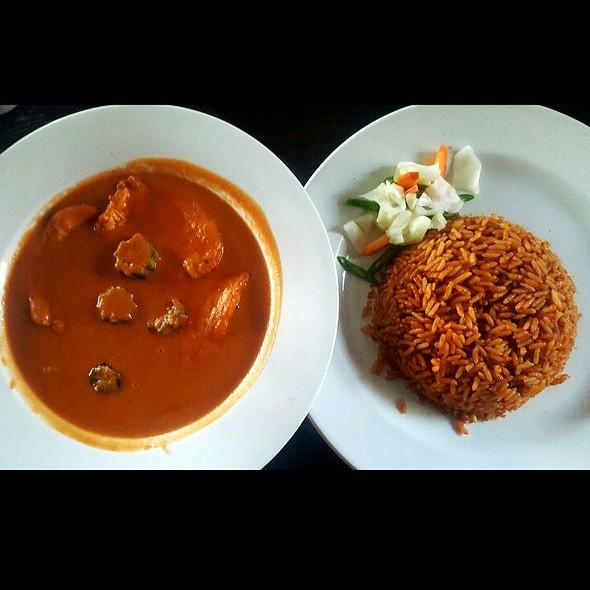 Peanut Chicken #Naija Jollof