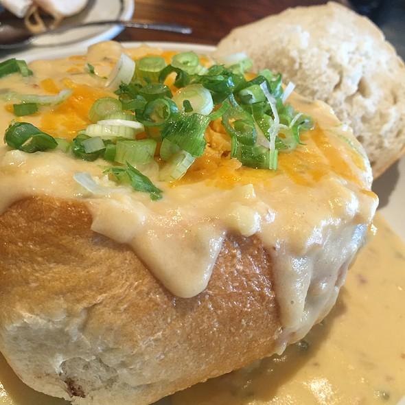 Loaded Baked Potato Soup @ Corner Bakery Cafe