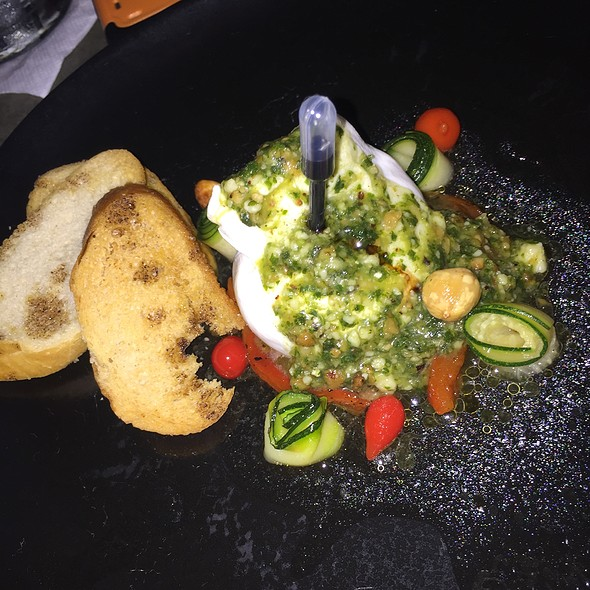 Burrata @ Cocina Abierta