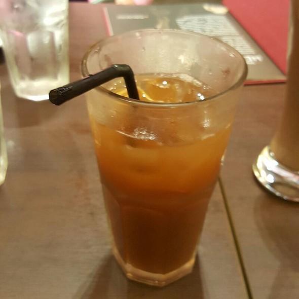 Iced tea @ Wee Nam Kee (Trinoma)