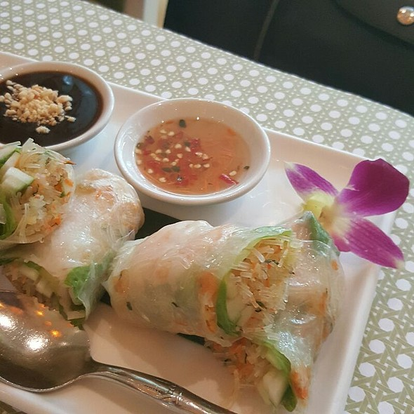 Fresh Spring Rolls @ Simply Thai