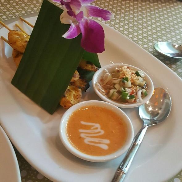 Chicken satay @ Simply Thai