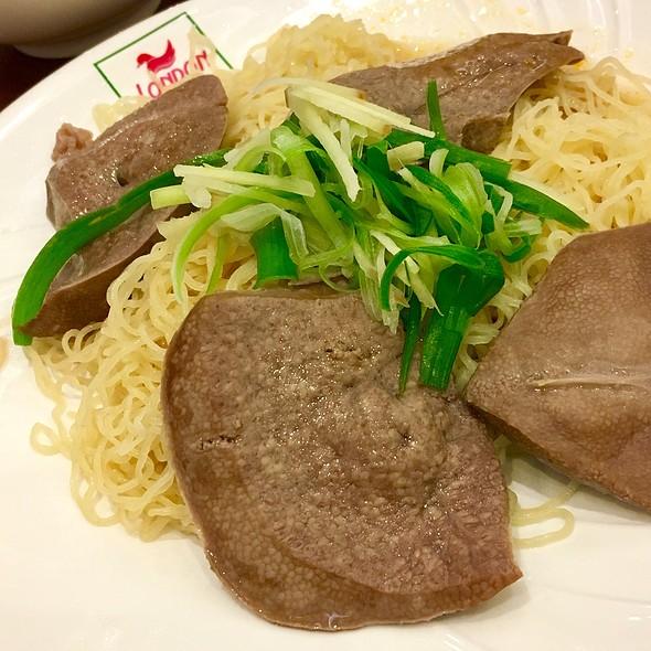Pig's Liver Noodles @ London Fat Duck
