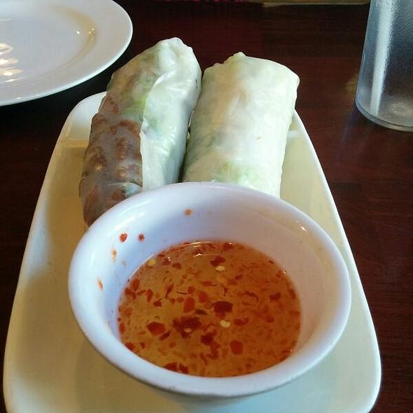Bi Cuon (Shredded Pork Rolls) @ Number One Pho