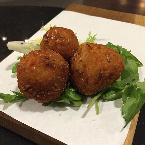 Reuben Croquettes @ Virgin Atlantic Clubhouse