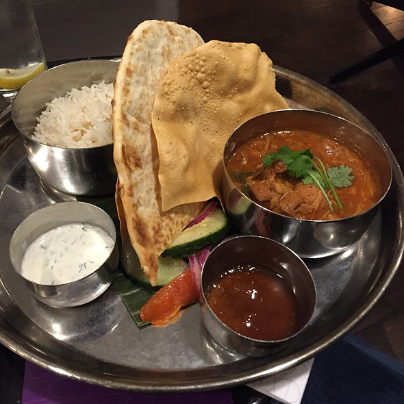 Chicken Curry @ Virgin Atlantic Clubhouse