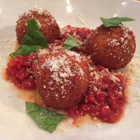 Tomato Mozzarella Arancini