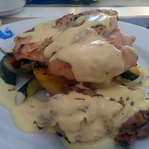 Grilled Chicken With Mustard Sauce @ Dionisos