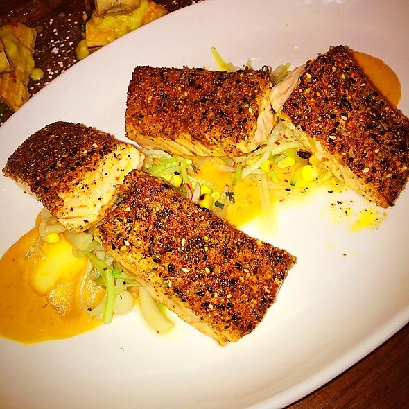 Spiced Sesame Salmon - The Stanton Social, New York, NY