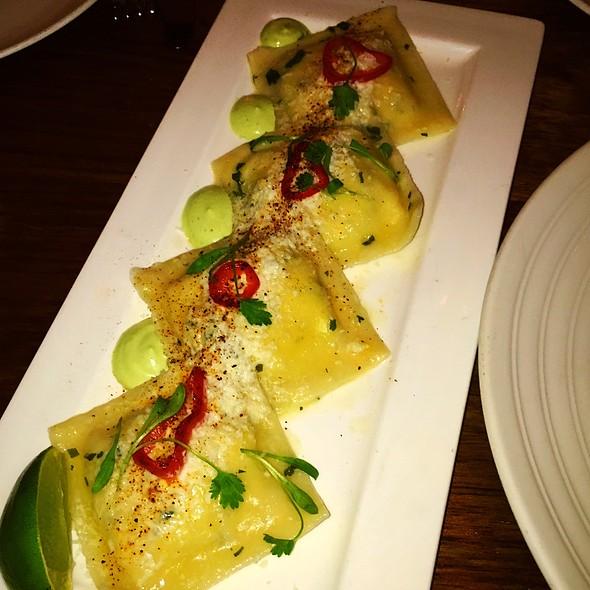 Mexican Street Corn Ravioli - The Stanton Social, New York, NY