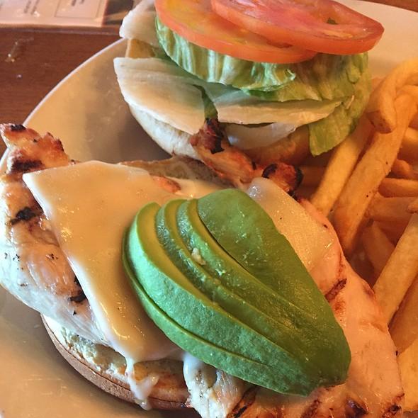 Chicken Avocado Sandwich - Rock Bottom Brewery Restaurant - Yorktown, Lombard, IL