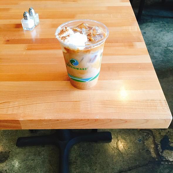 Horchata Latte @ Nido Cafe