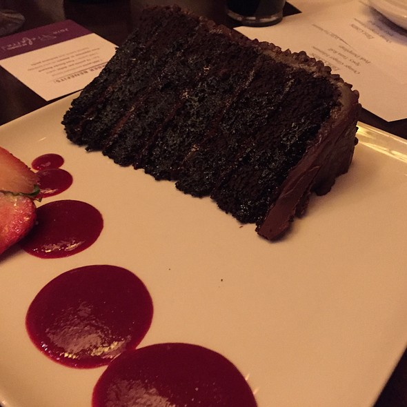 great wall of chocolate @ P F Chang's China Bistro