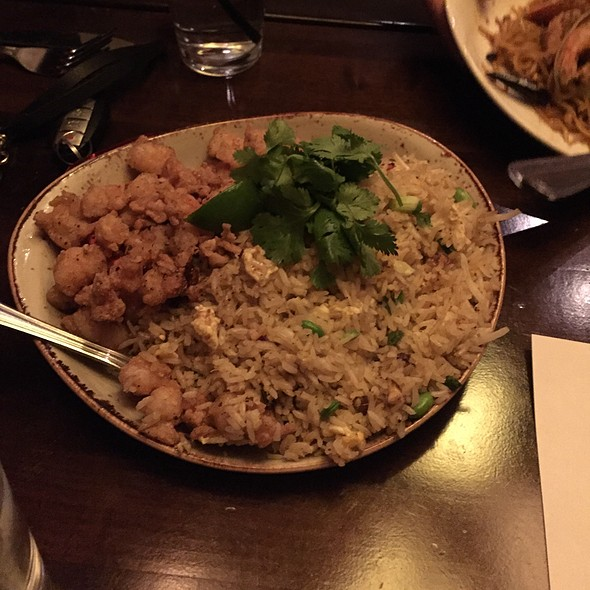 Lobster & Shrimp Fried Rice @ P F Chang's China Bistro