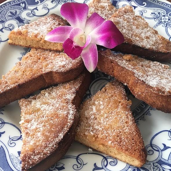 Watts' Famous Ginger Toast @ George Watts Tea Shop