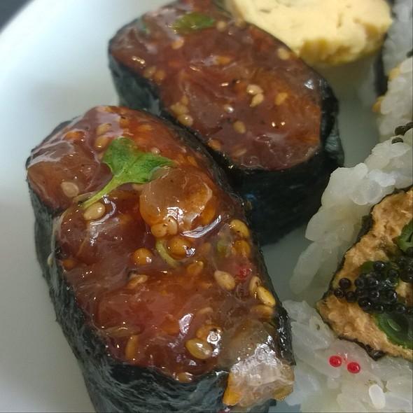 Tuna Tatare With Spezial Sauce @ Maruyasu