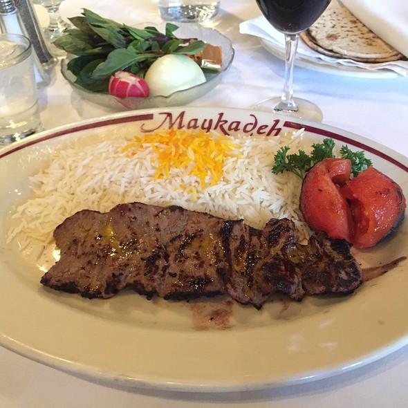 Filet Mignon (Barg) @ Maykadeh Persian Cuisine
