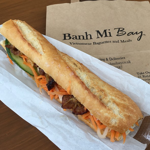 Garlic Pork Bahn Mi @ Bahn Mi Bay